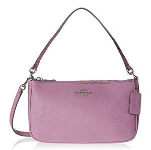 Coach Bags - COACH Top Handle Crossbody Leather Pouch